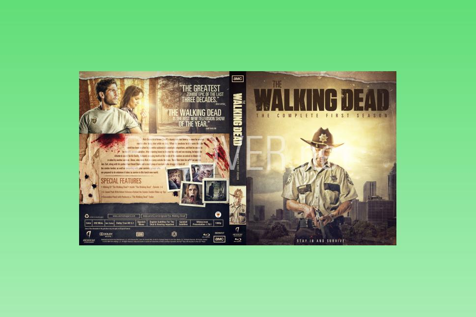 download free The Walking Dead Collections cover & label