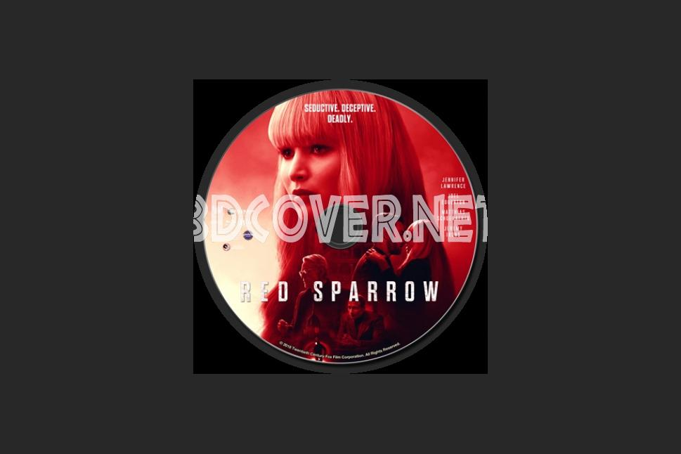 Red Sparrow Blu Ray Label Scanned Labels Custom Labels