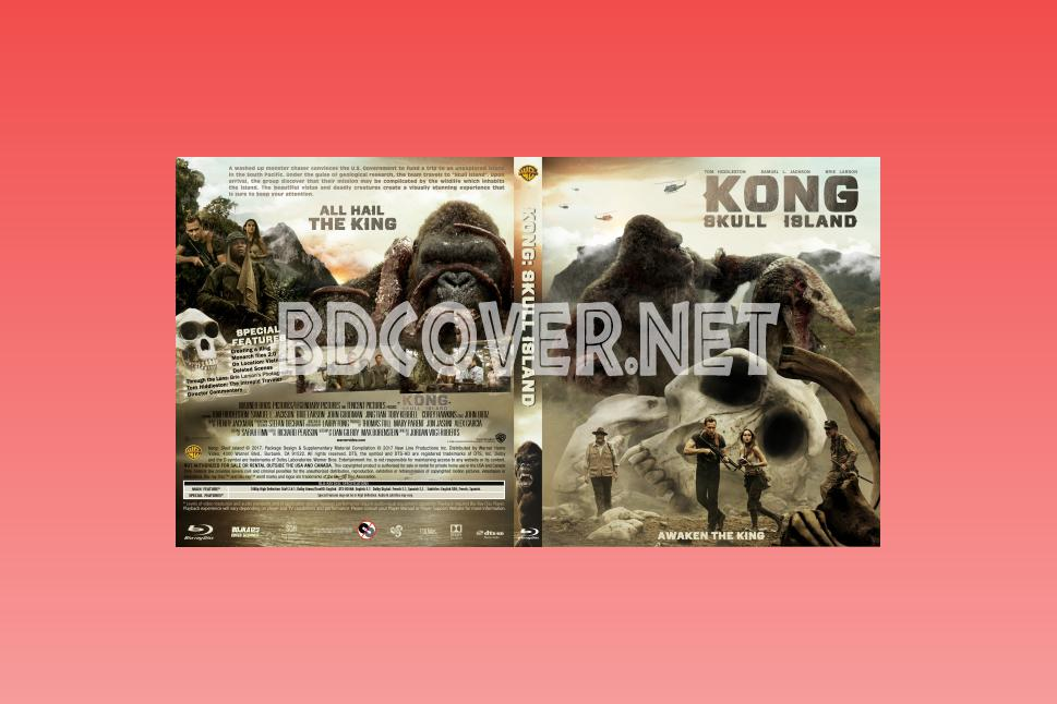 Kong Skull Island Blu Ray Covers