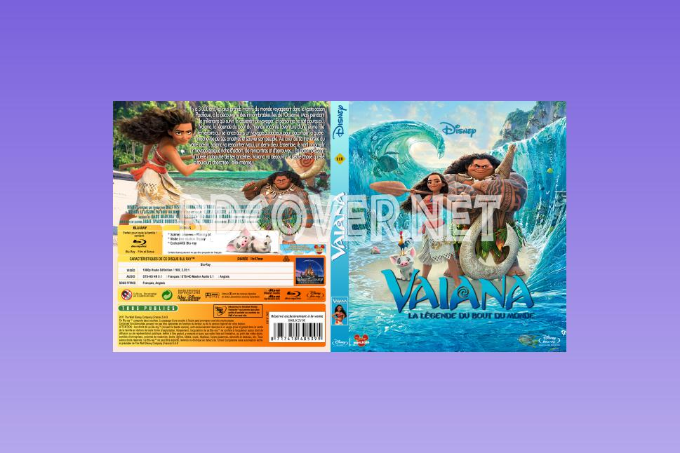 blu-ray covers | dvd covers | blu-ray labels | vaiana