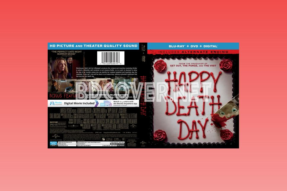 Blu-Ray Covers | DVD Covers | Blu-ray Labels | Happy Death