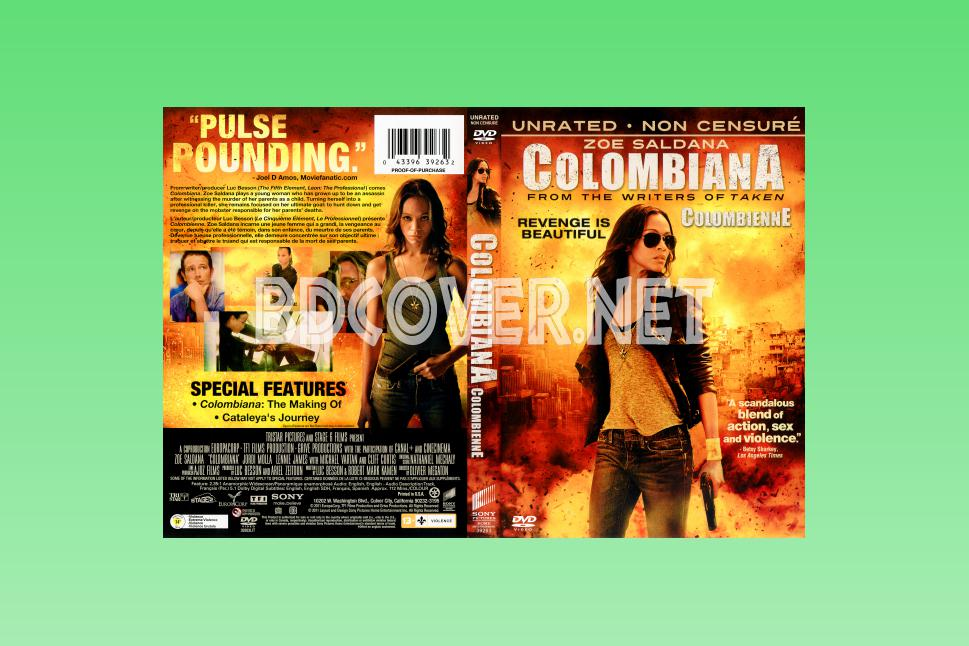 Columbiana Scanned Covers DVD SCANNED Covers