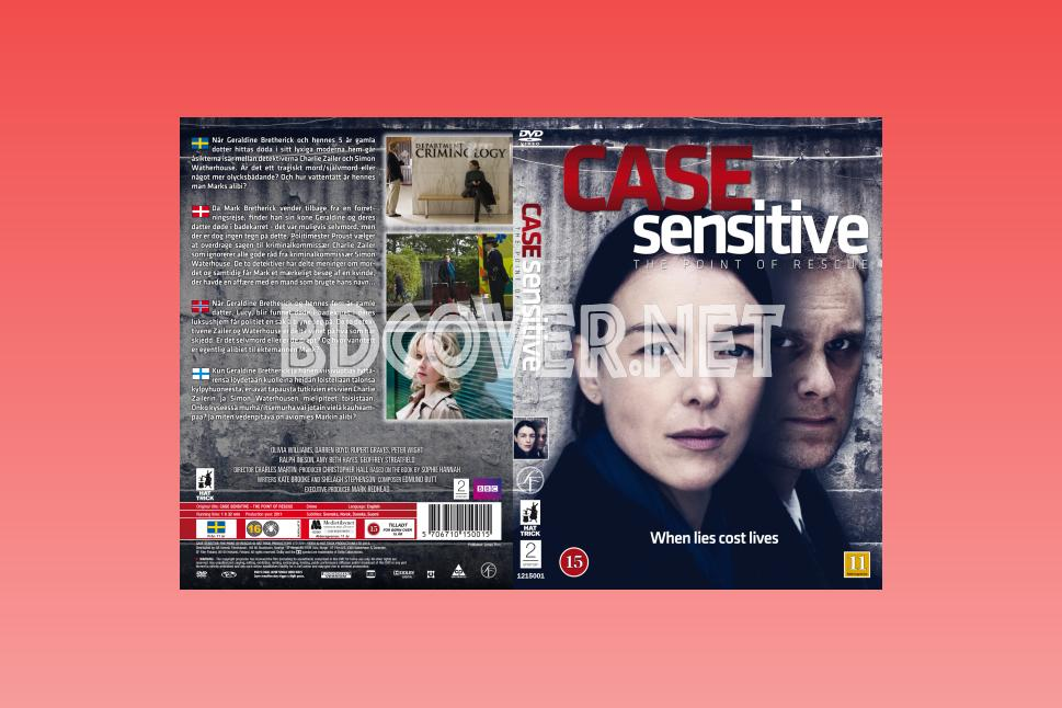 Case Sensitive Scanned Covers DVD SCANNED Covers