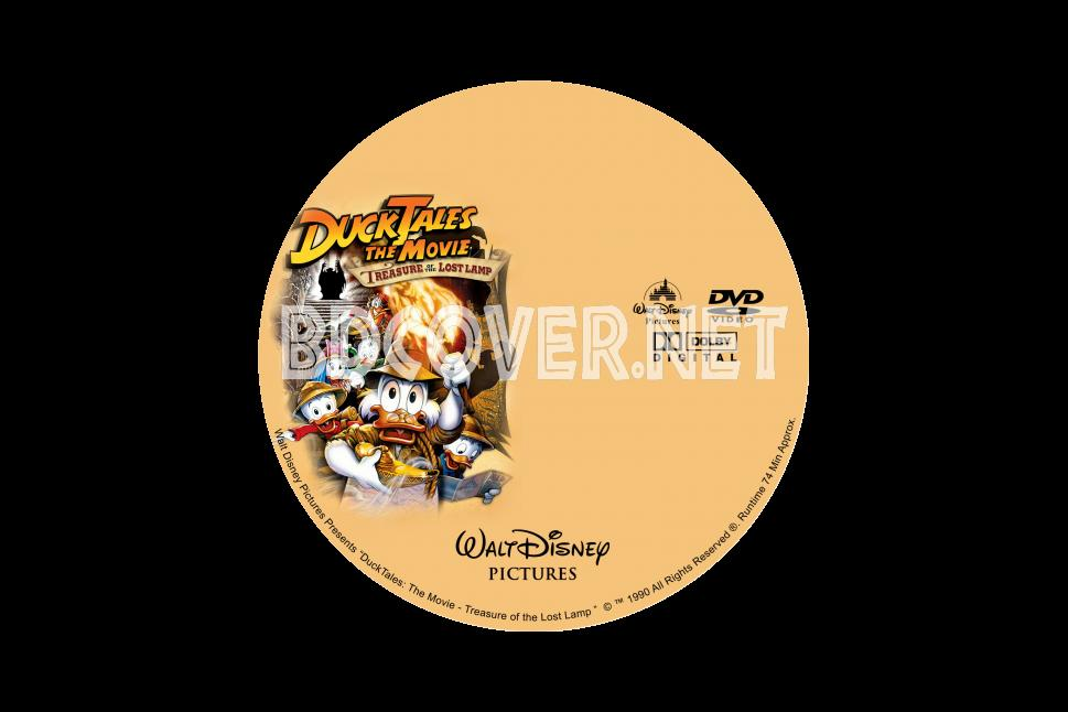 Ducktales: The Movie Treasure Of The Lost Lamp Dvd Labels DVD CUSTOM Labels