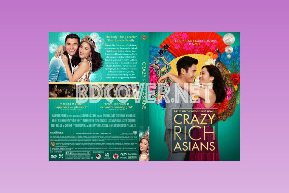 Crazy Rich Asians Dvd Covers DVD CUSTOM Covers