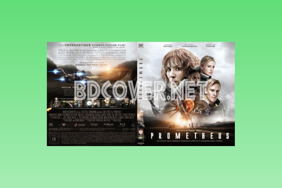Prometheus 4k Ultrahd Blu Ray Cover 4k Ultrahd Blu Ray Covers