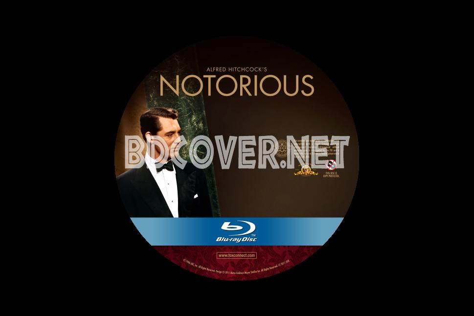 Notorious Blu Ray Label Blu Ray Labels