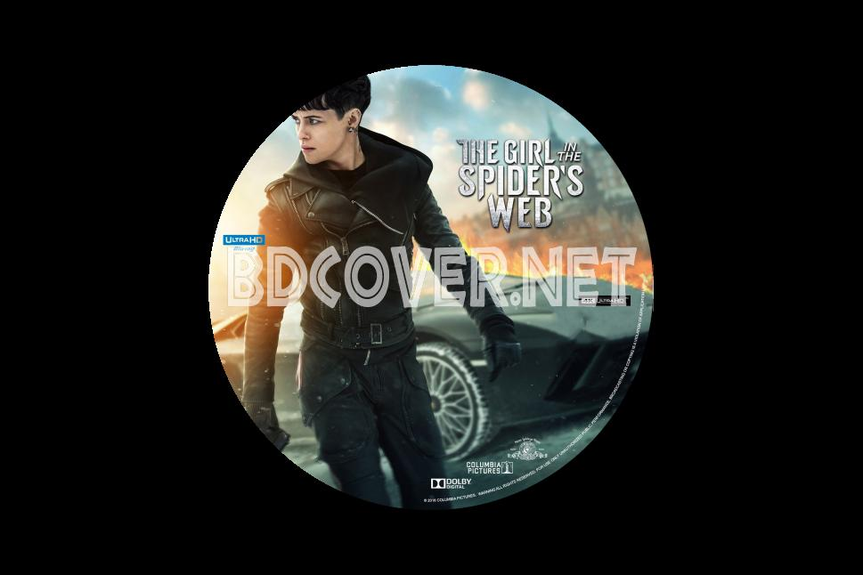 The Girl In The Spider's Web Blu Ray Label Blu Ray Labels