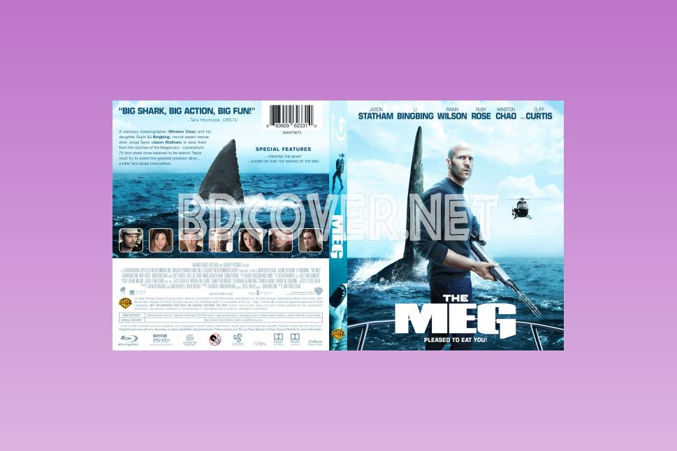 The Meg Blu Ray Cover Blu Ray Cover