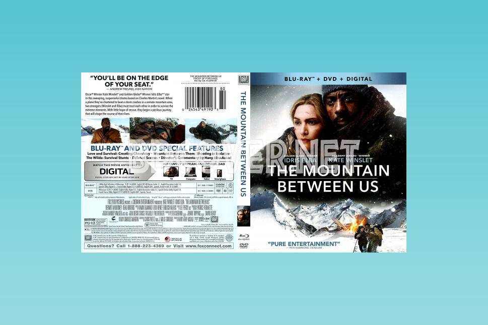 The Mountan Between Us Blu Ray Cover Blu Ray Cover