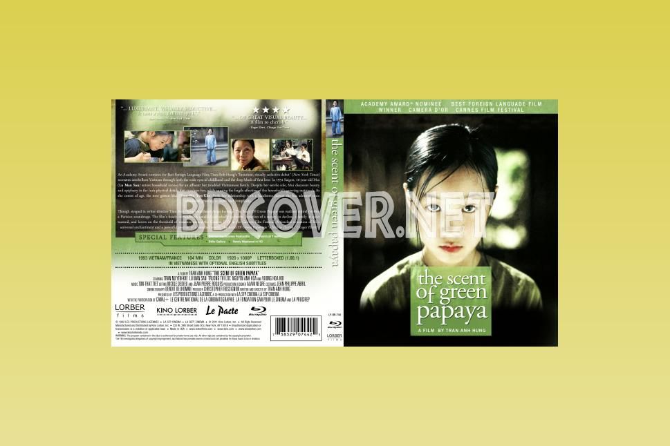 The Scent Of Green Papaya Blu Ray Cover Blu Ray Cover