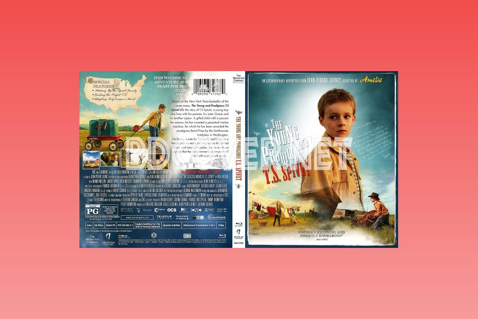 The Young And Prodigious Ts Spivet Blu Ray Cover Blu Ray Cover