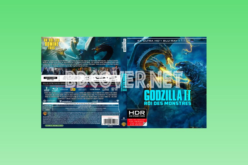 Godzilla King Of The Monsters 4k Ultrahd Blu Ray Cover 4k Ultrahd Blu Ray Covers