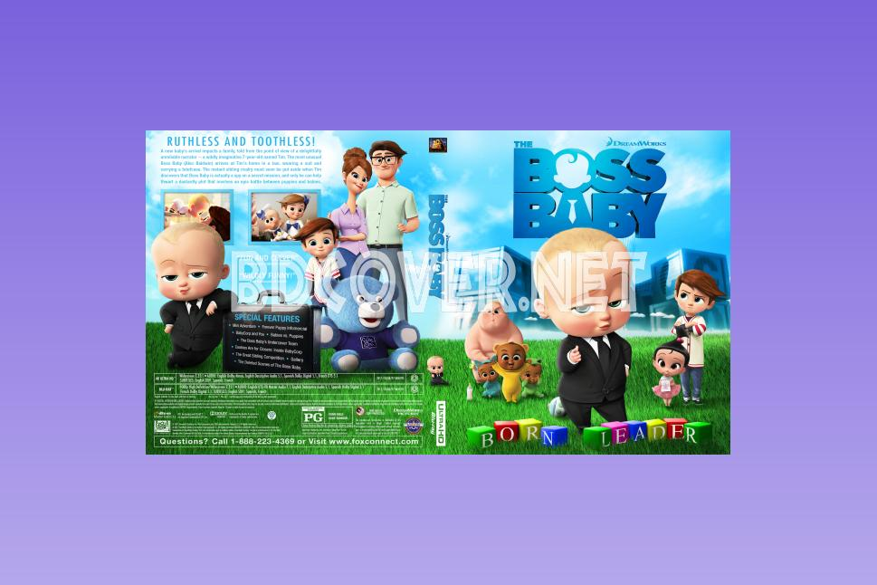 The Boss Baby 4k Ultrahd Blu Ray Cover 4k Ultrahd Blu Ray Covers