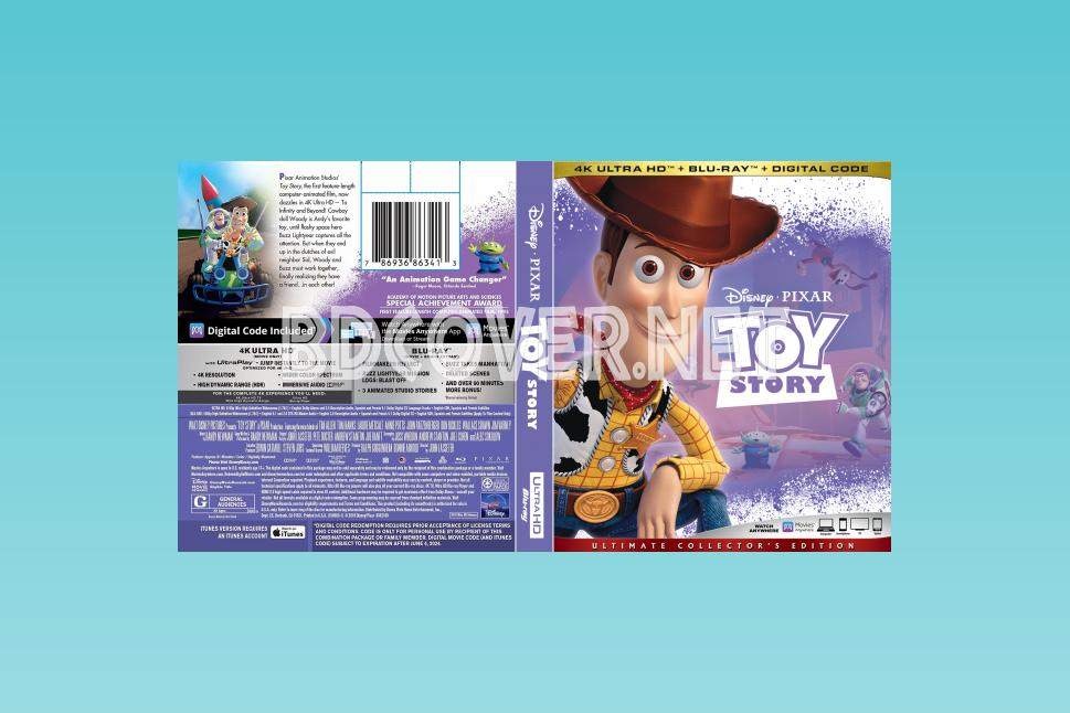 Toy Story 4k Ultrahd Blu Ray Cover 4k Ultrahd Blu Ray Covers