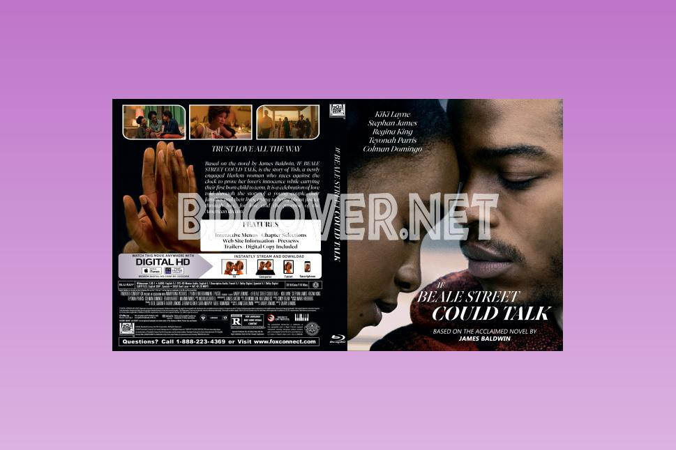 If Beale Street Could Talk Blu Ray Cover Blu Ray Cover