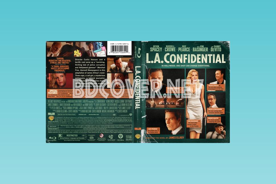 L.a. Confidential Blu Ray Cover Blu Ray Cover