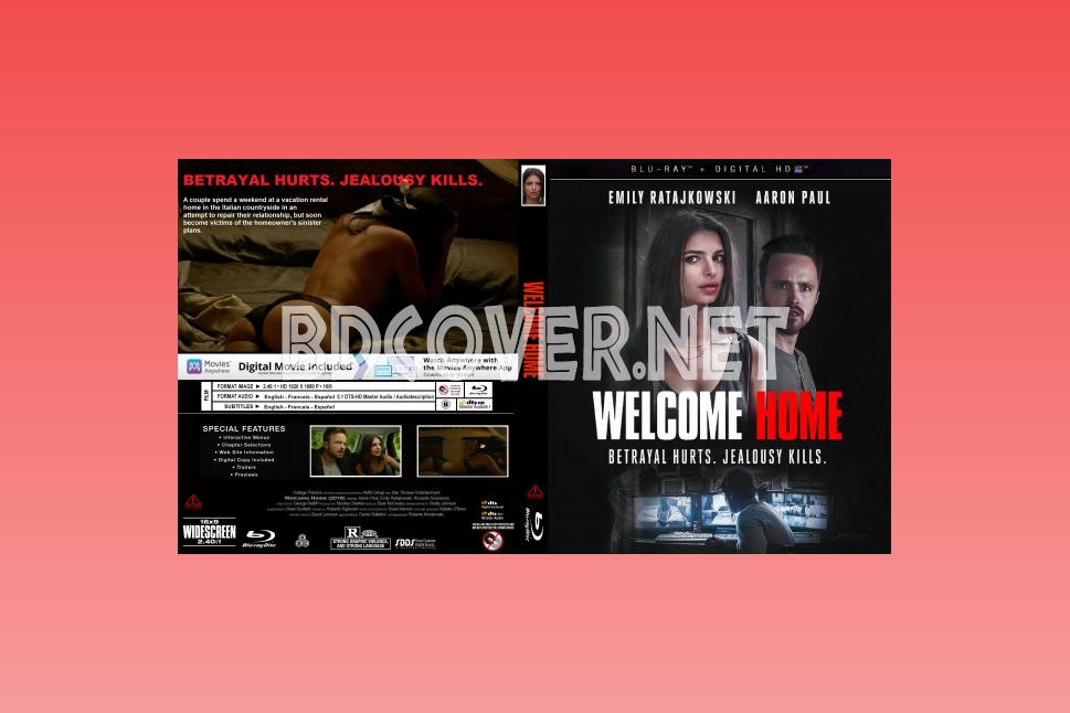 Welcome Home Blu Ray Cover Blu Ray Cover
