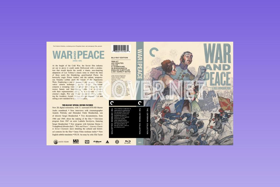 War And Peace (1966) Blu Ray Cover Blu Ray Cover