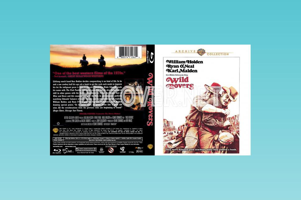 Wild Rovers (1971) Blu Ray Cover Blu Ray Cover