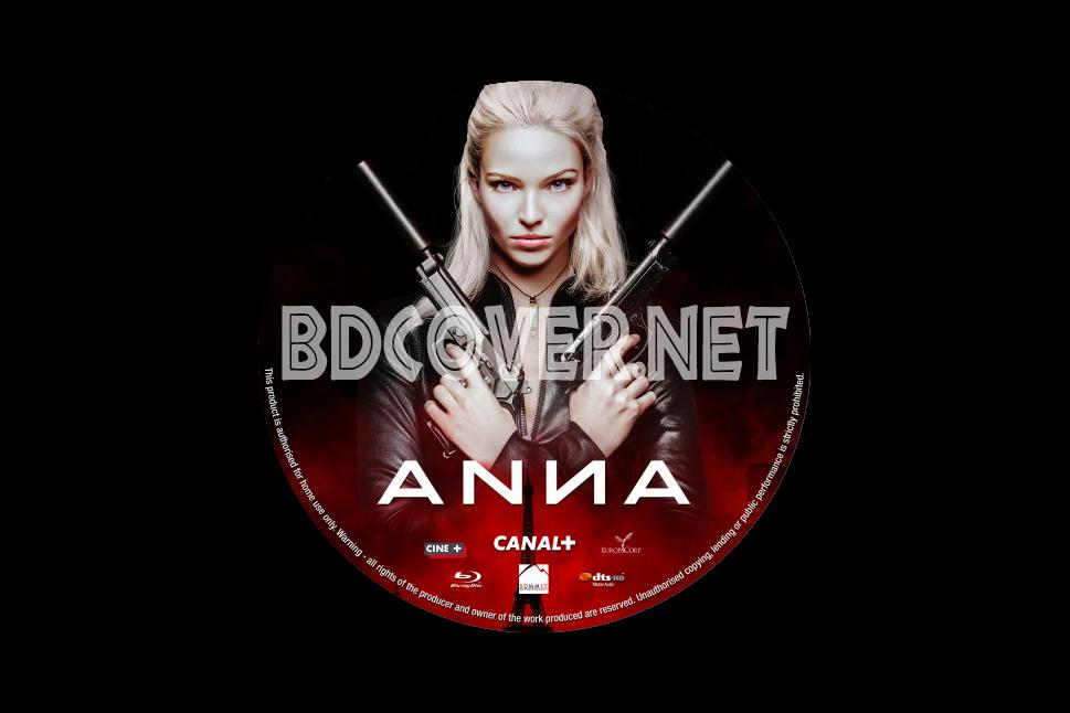 Anna 2019 Blu Ray Label Blu Ray Labels