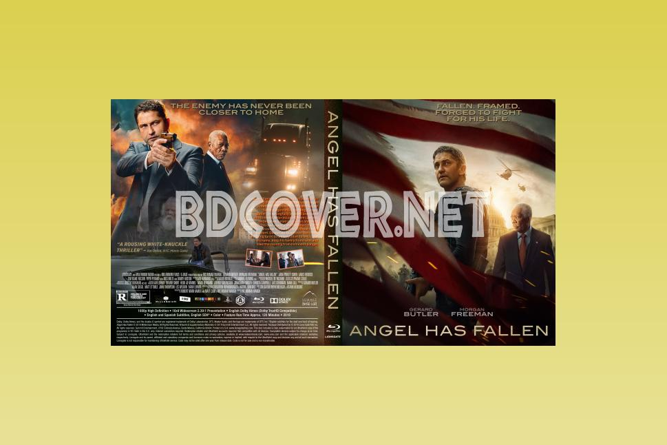 Angel Has Fallen 11mm Blu Ray Cover Blu Ray Cover