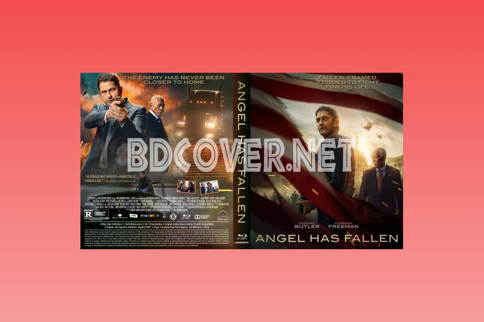 Angel Has Fallen 14mm Blu Ray Cover Blu Ray Cover