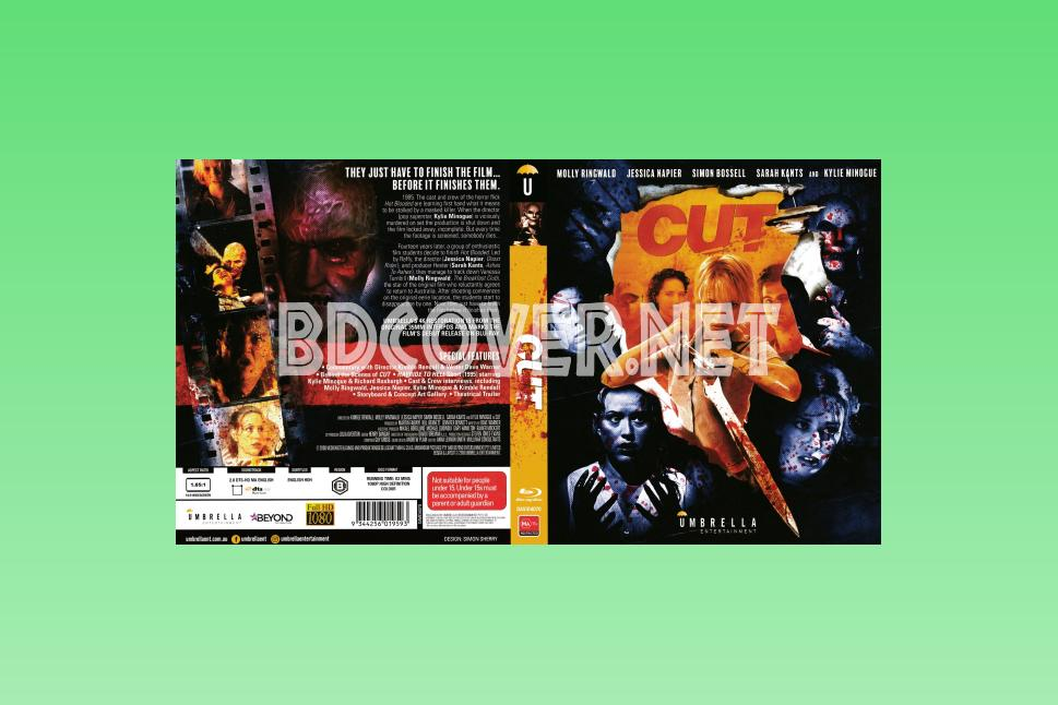 Cut (2000) Scanned Blu Ray Cover Blu Ray Cover