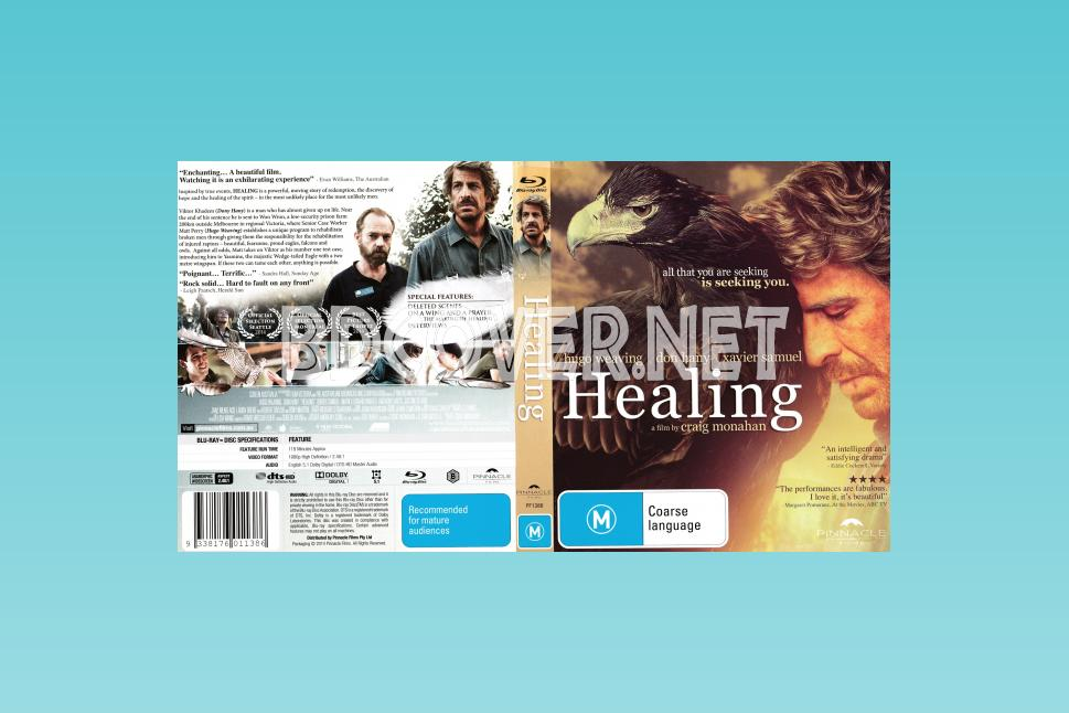 Healing (2014) Scanned Blu Ray Cover Blu Ray Cover