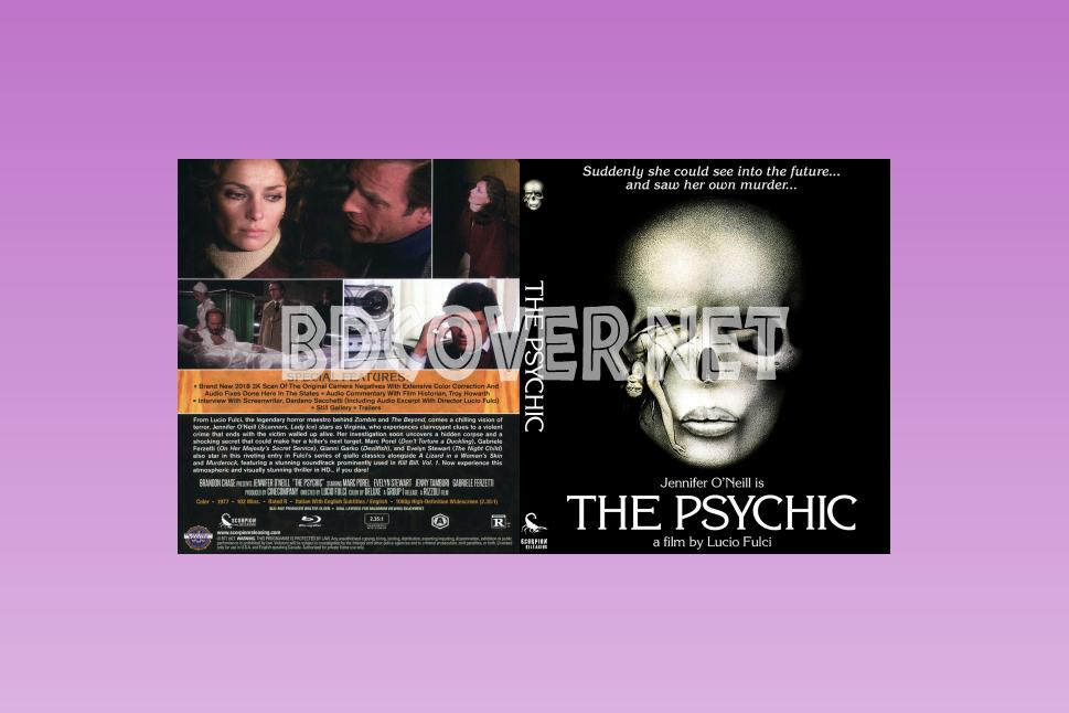 The Psychic (1977) Blu Ray Cover Blu Ray Cover