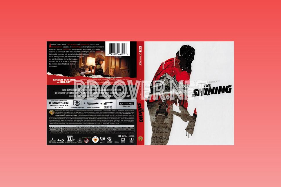 The Shining 4k Ultrahd Blu Ray Cover 4k Ultrahd Blu Ray Covers