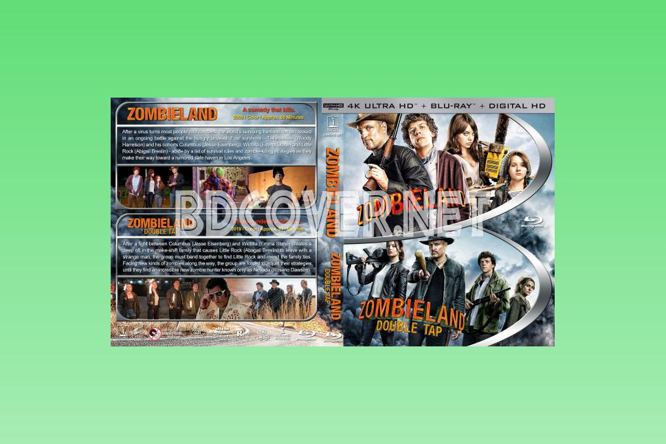 Zombieland Double Tap 4k Ultrahd Blu Ray Cover 4k Ultrahd Blu Ray Covers