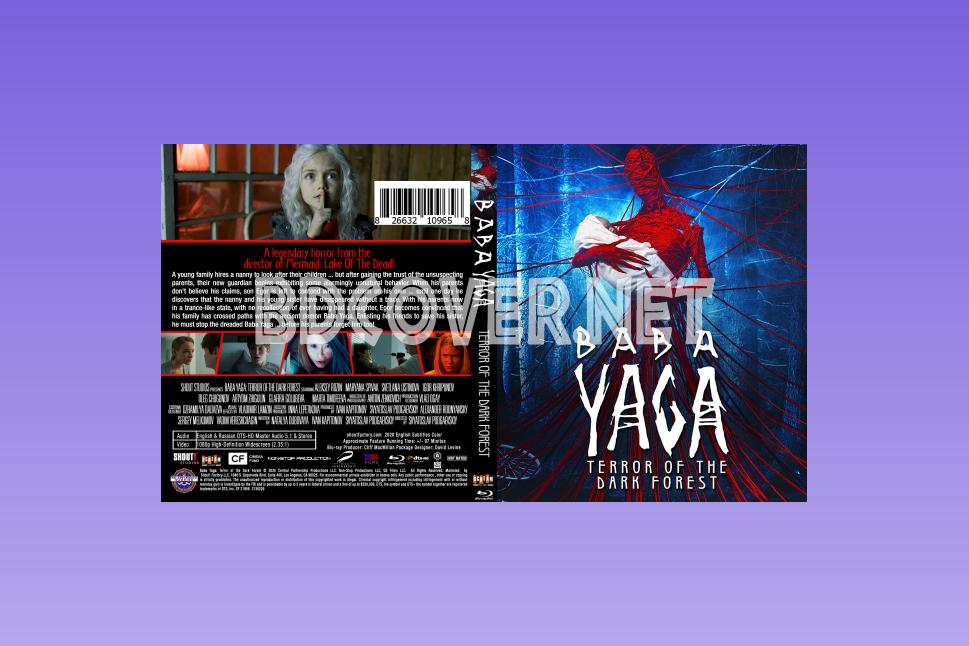 Baba Yaga Terror Of The Dark Forest (2020) Blu Ray Cover Blu Ray Cover