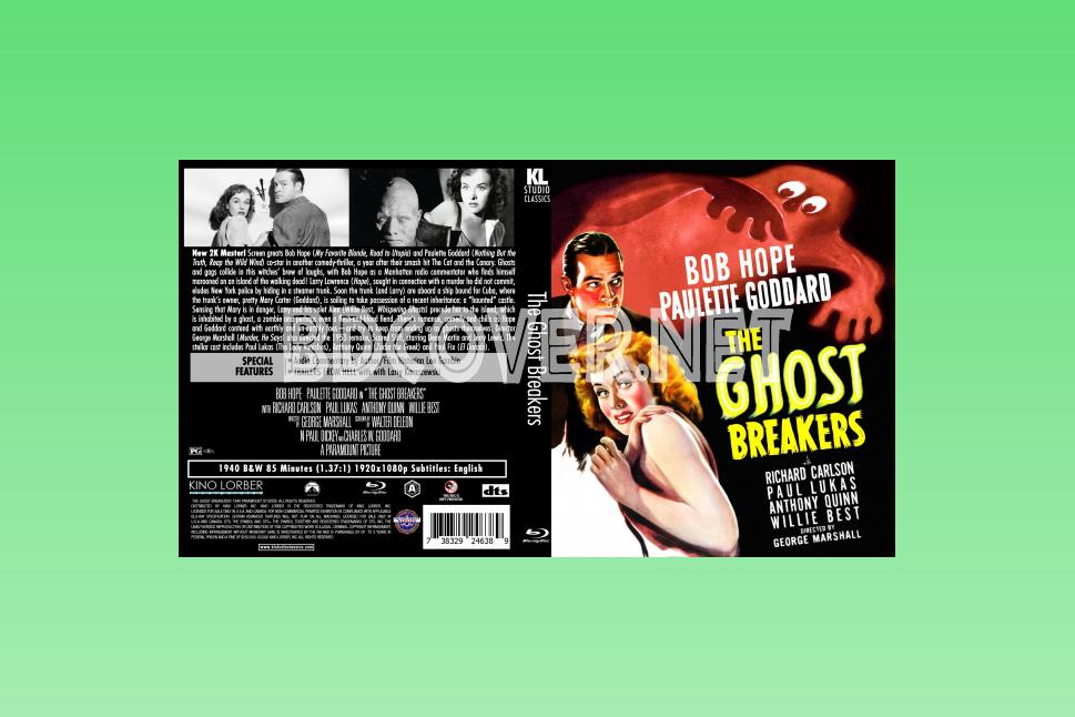 The Ghost Breakers (1940) Blu Ray Cover Blu Ray Cover