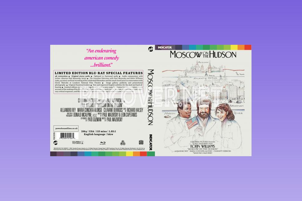 Moscow On The Hudson (1984) Blu Ray Cover Blu Ray Cover