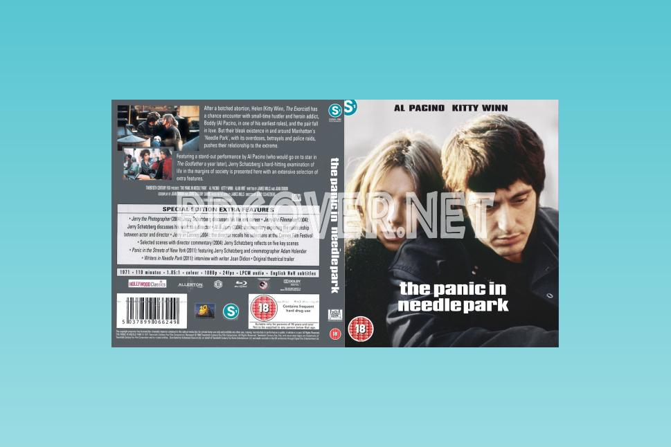 Panic In Needle Park (1971) Blu Ray Cover Blu Ray Cover
