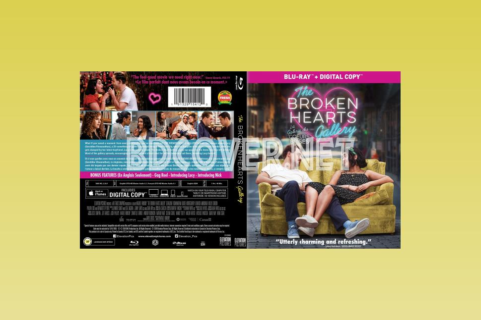 The Broken Hearts Gallery (2020) Blu Ray Cover Blu Ray Cover