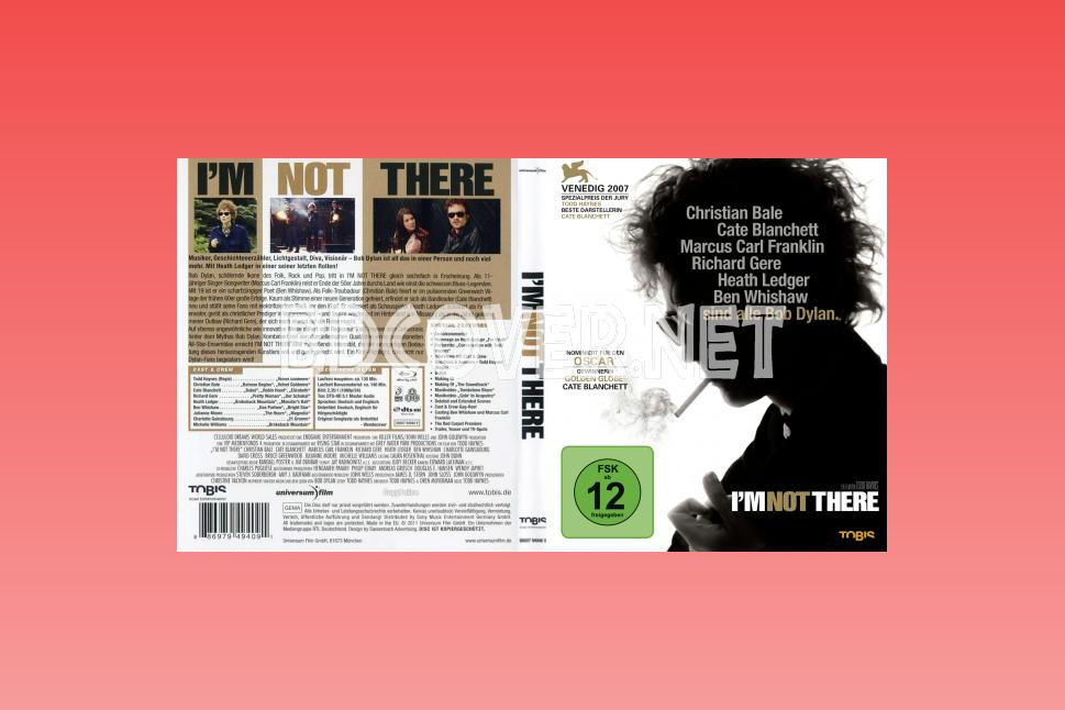 I'm Not There (2007) Blu Ray Cover Blu Ray Cover