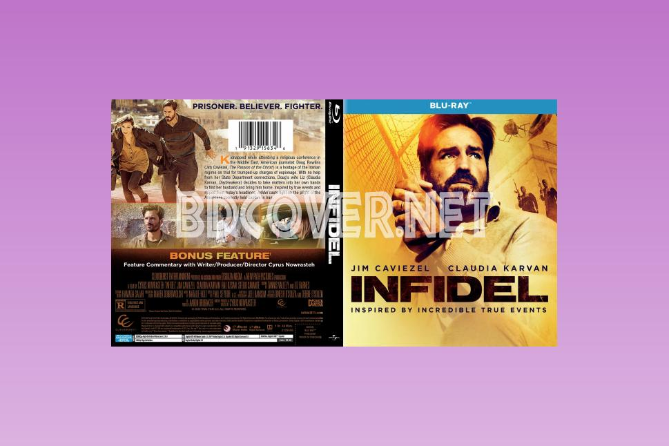 Infidel (2019) Blu Ray Cover Blu Ray Cover