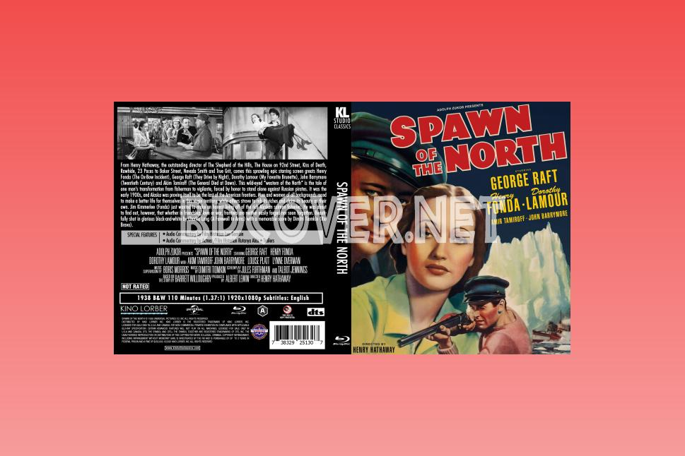 Spawn Of The North (1938) Blu Ray Cover Blu Ray Cover