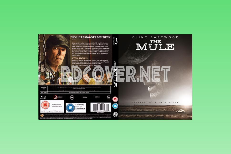 The Mule (2018) Blu Ray Cover Blu Ray Cover