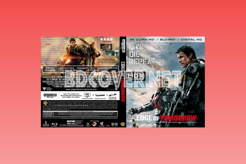 Edge Of Tomorrow 4k Ultrahd Blu Ray Cover 4k Ultrahd Blu Ray Covers