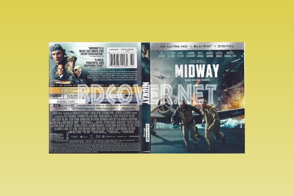 Midway 4k Ultrahd Blu Ray Cover 4k Ultrahd Blu Ray Covers
