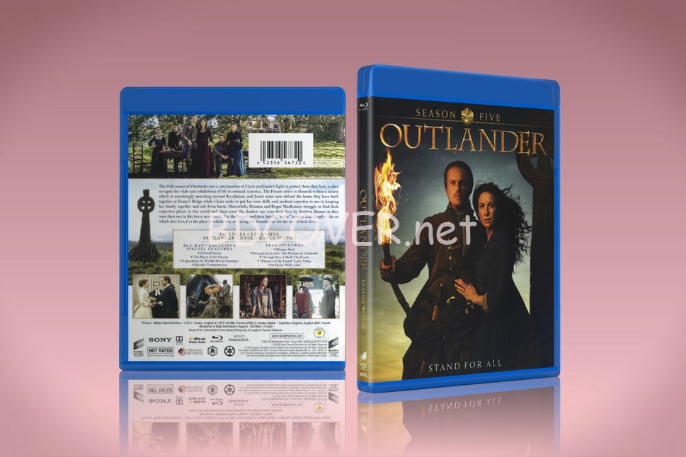 Outlander Season 5 blu-ray cover